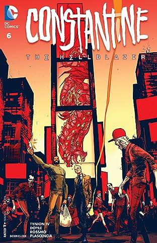 Constantine: The Hellblazer (2015-) #6