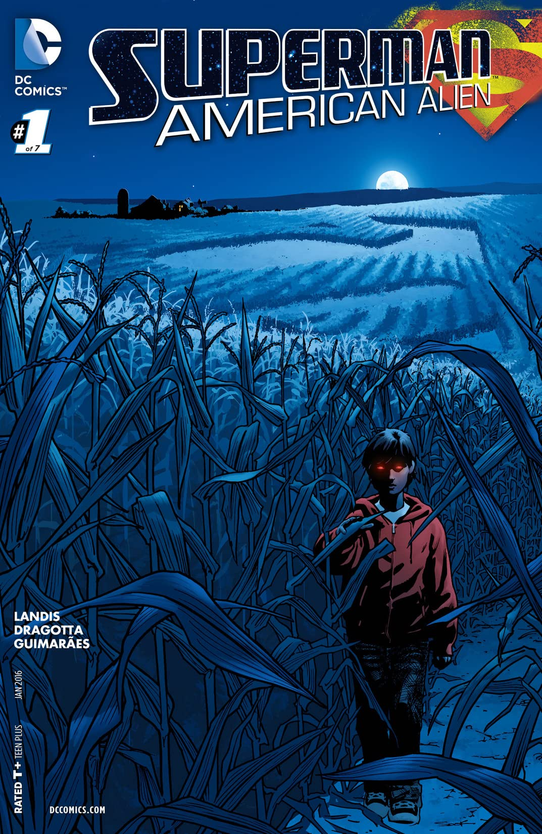 Superman: American Alien (2015-2016) #1