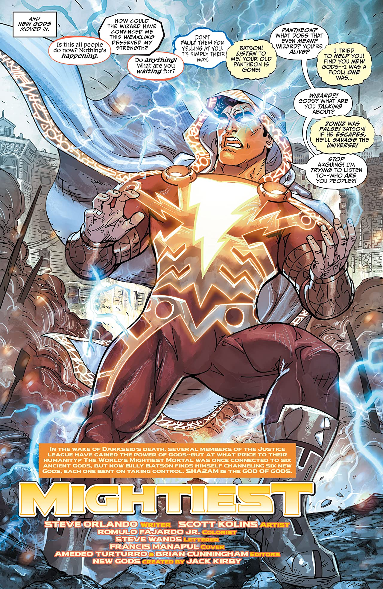Justice League: The Darkseid War: Shazam (2015) #1