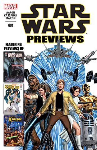 Star Wars Previews #1
