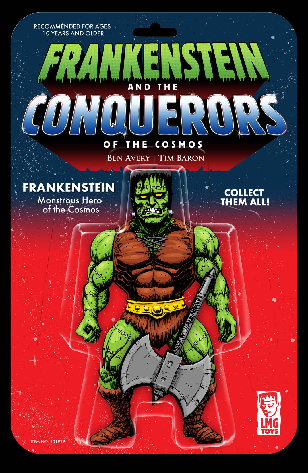 Frankenstein and the Conquerors of the Cosmos