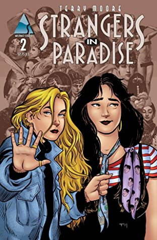 Strangers in Paradise Vol. 3 #2