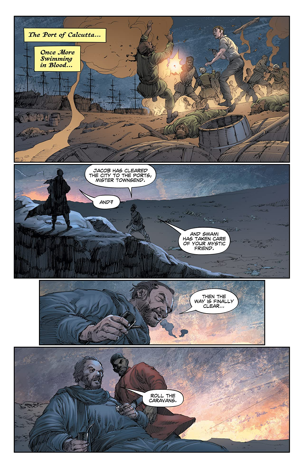 The Sadhu: Birth of the Warrior #6 (of 6)