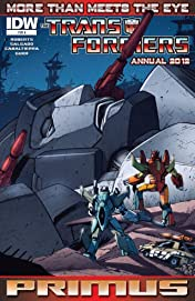 Transformers: More Than Meets the Eye (2011-2016): Annual 2012