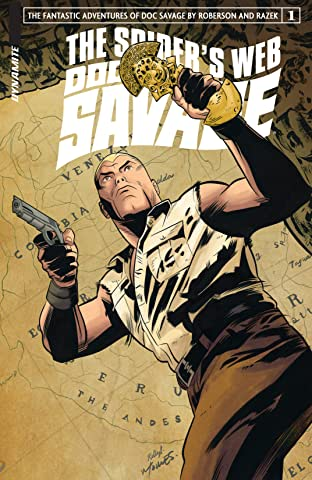 Doc Savage: The Spider's Web #1: Digital Exclusive Edition
