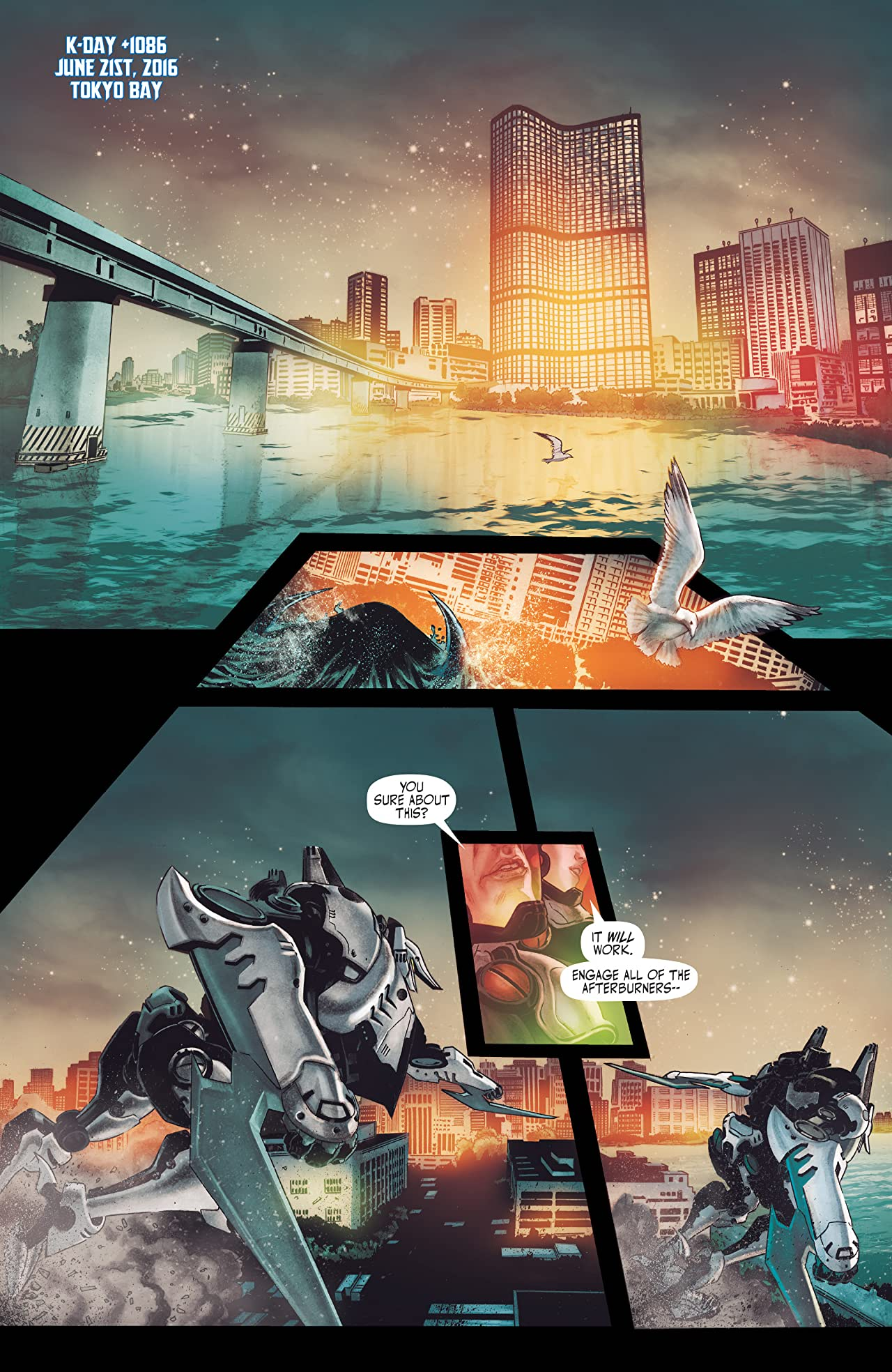 Pacific Rim: Tales From The Drift #1