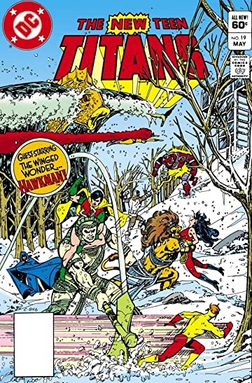New Teen Titans (1980-1988) #19