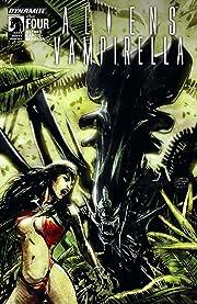 Aliens/Vampirella #4: Digital Exclusive Edition