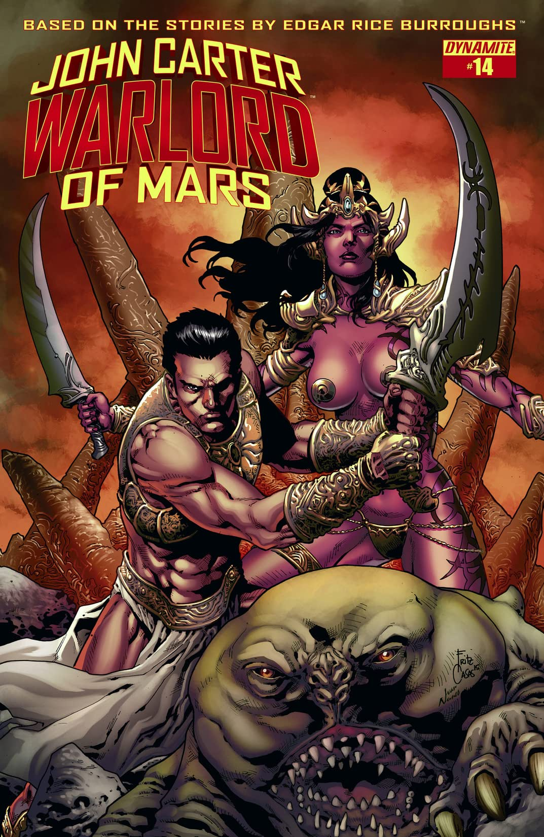 John Carter: Warlord of Mars #14: Digital Exclusive Edition