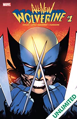 All-New Wolverine (2015-2018) #1