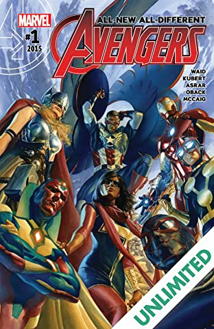 All-New, All-Different Avengers (2015-2016) #1