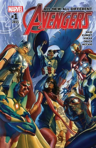 All-New, All-Different Avengers (2015-) #1