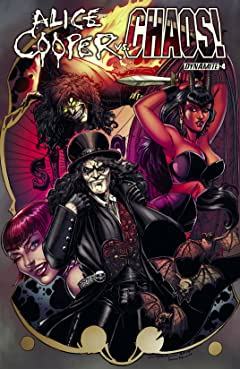Alice Cooper vs. CHAOS! #4: Digital Exclusive Edition