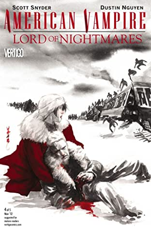 American Vampire: Lord of Nightmares #4