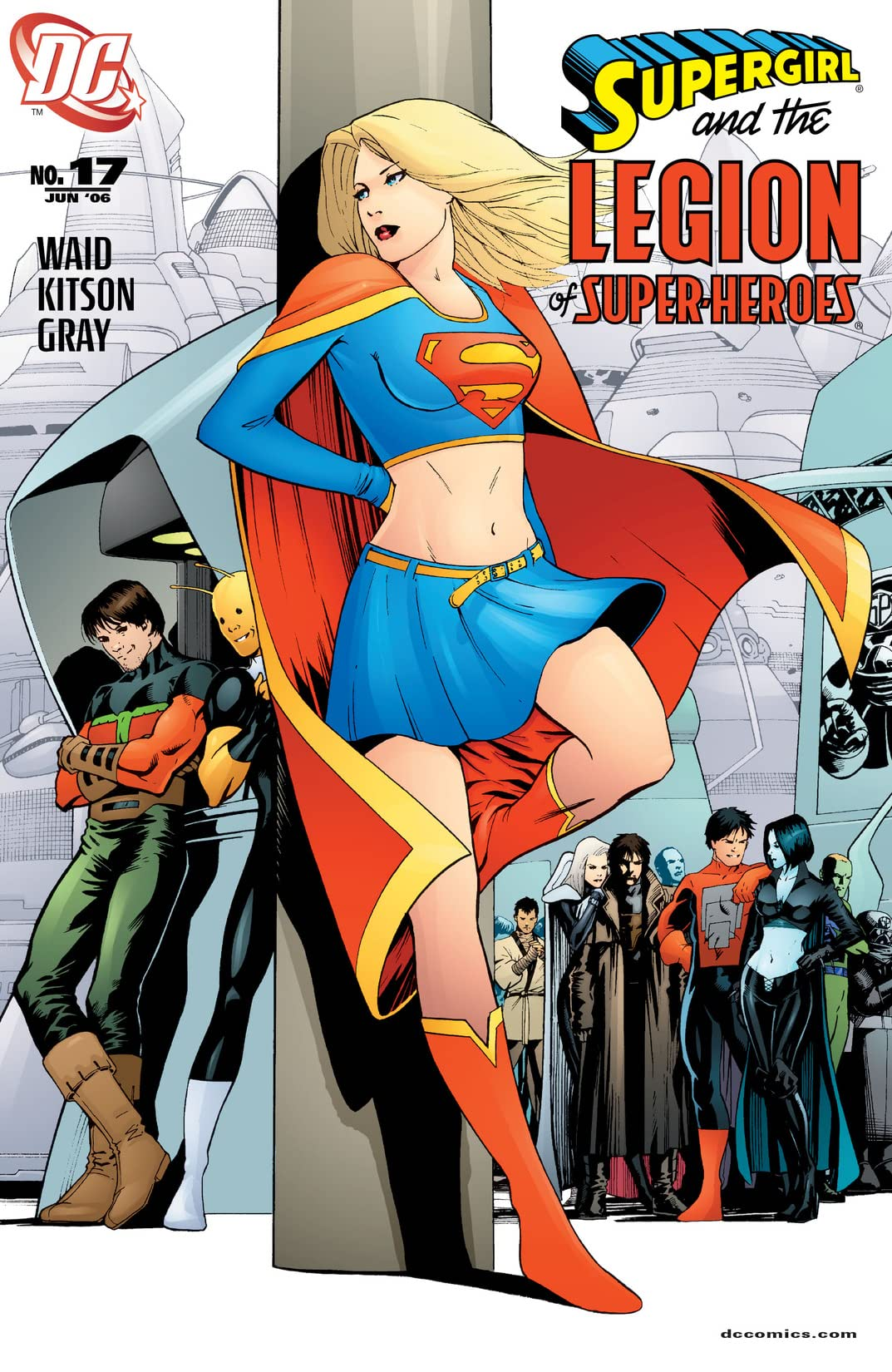Supergirl and The Legion of Super-Heroes (2005-2009) #17