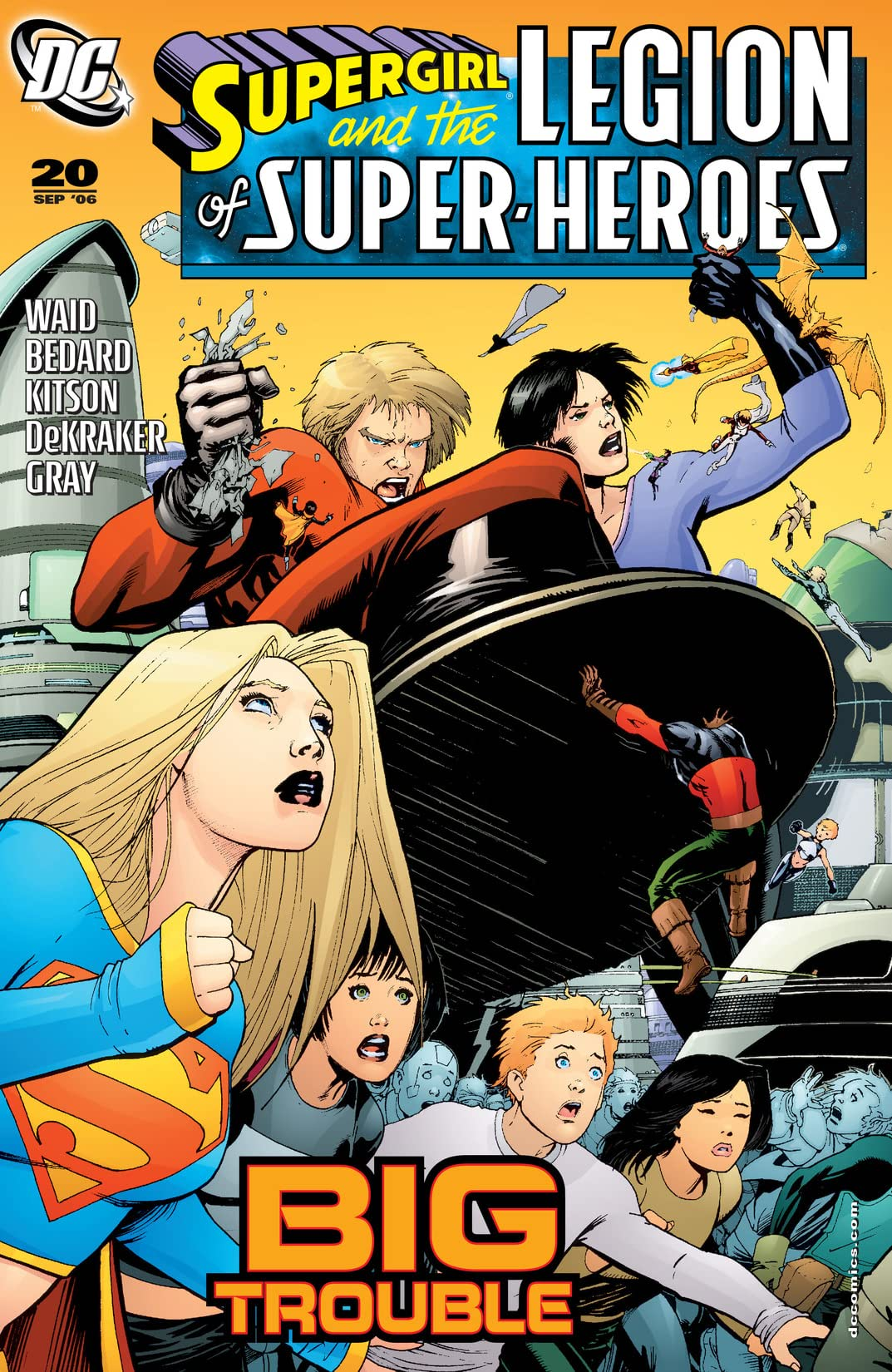 Supergirl and The Legion of Super-Heroes (2005-2009) #20