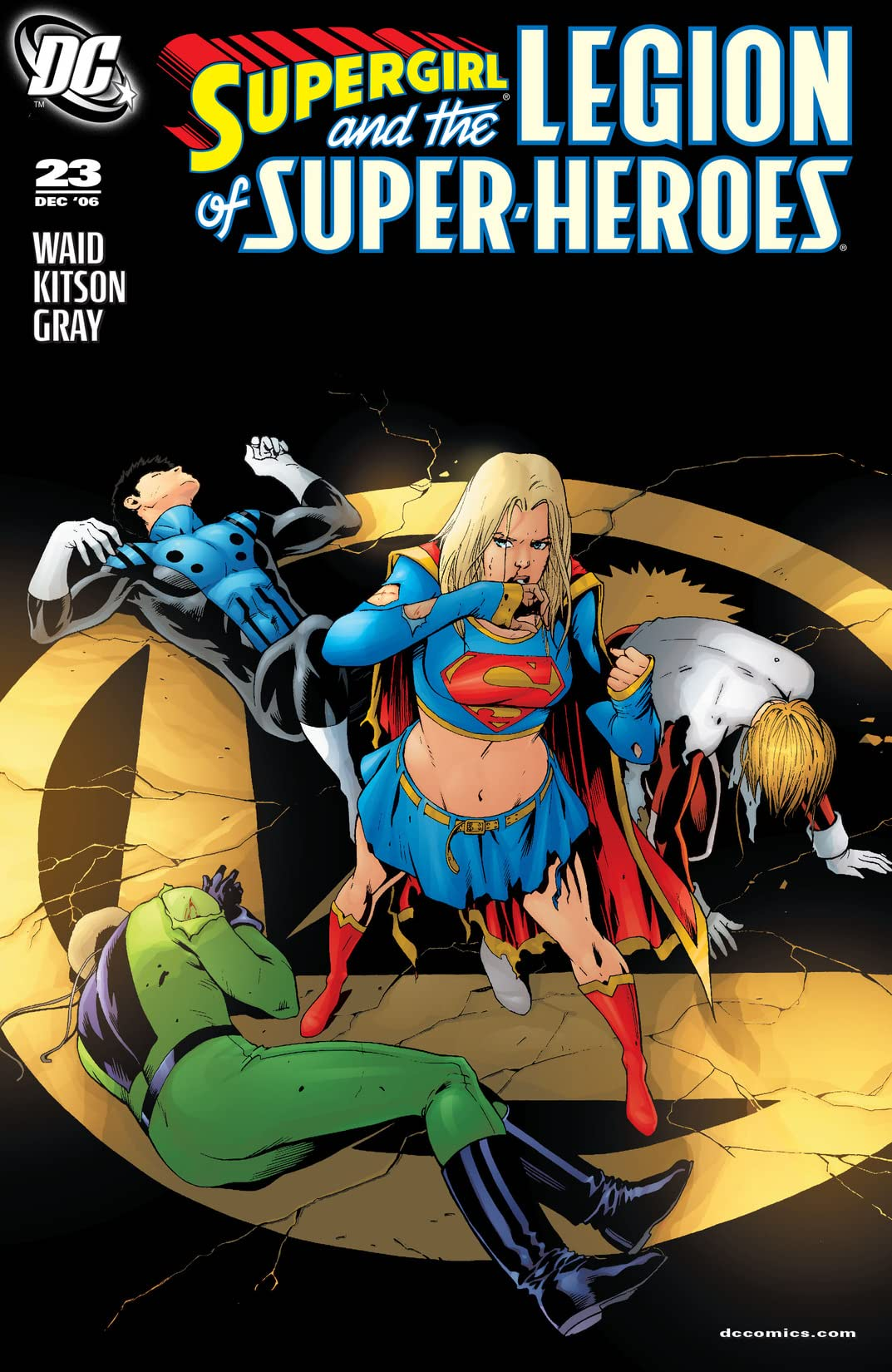 Supergirl and The Legion of Super-Heroes (2005-2009) #23