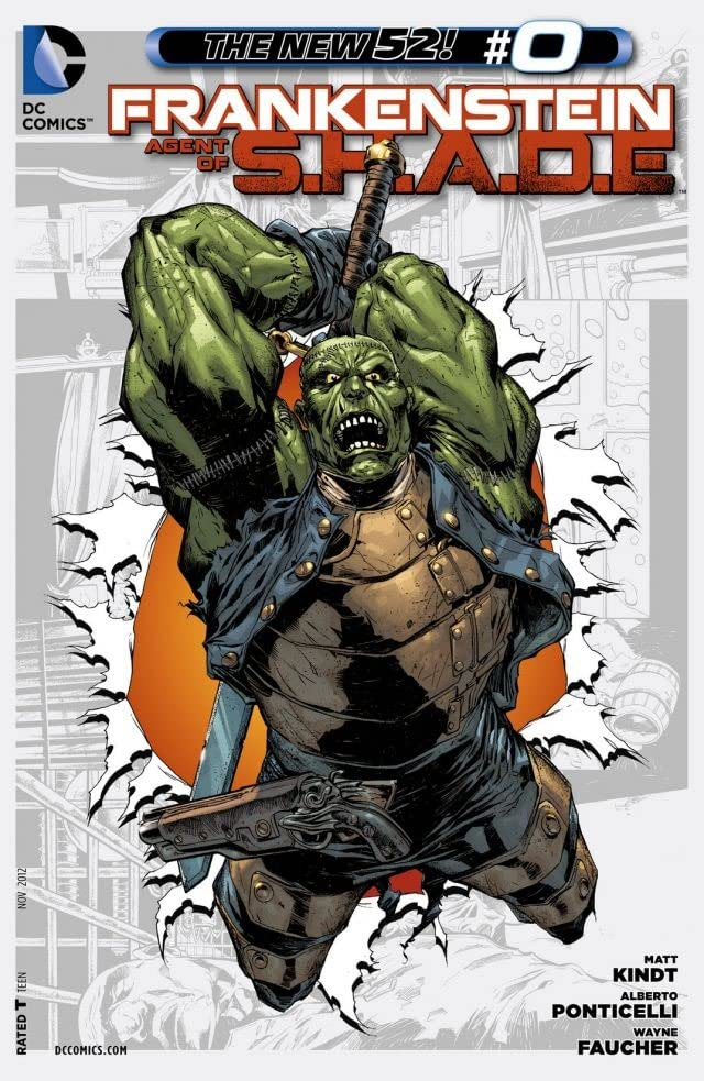 Frankenstein, Agent of SHADE (2011-2013) #0