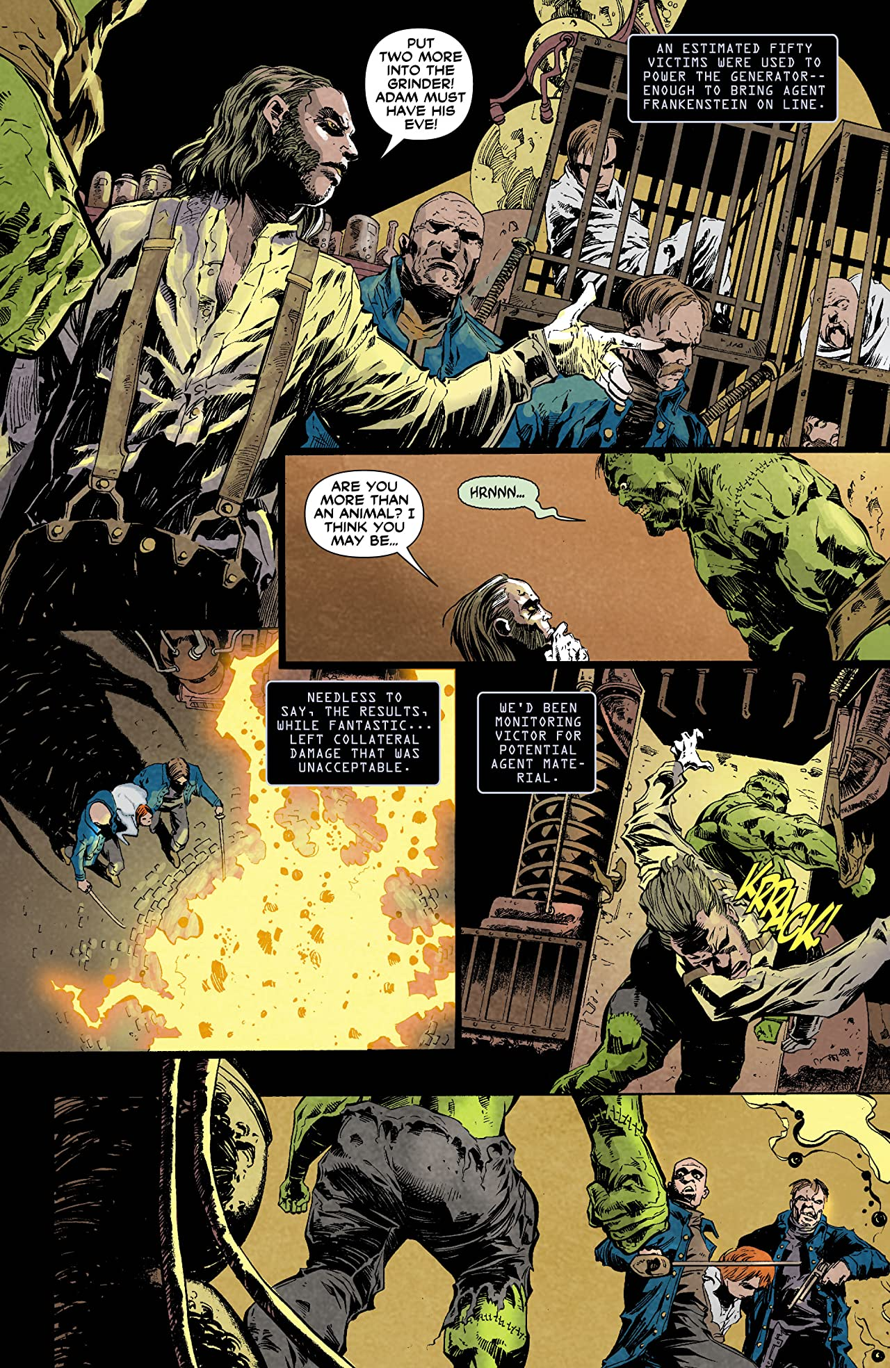 Frankenstein, Agent of SHADE (2011-2013) #0