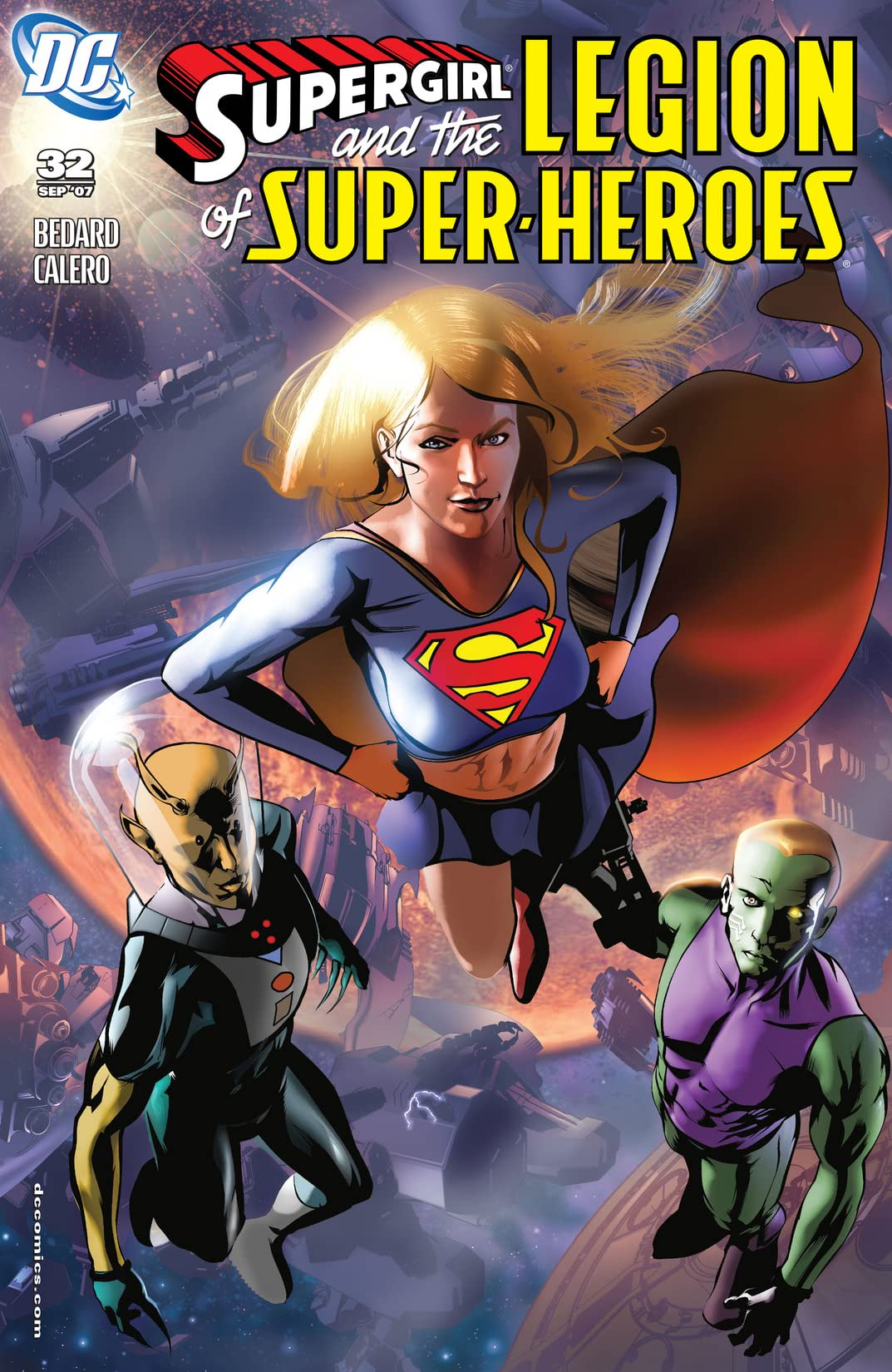 Supergirl and The Legion of Super-Heroes (2005-2009) #32