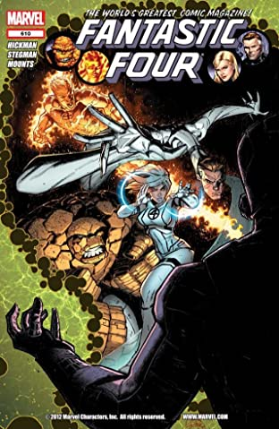 Fantastic Four (1998-2012) No.610