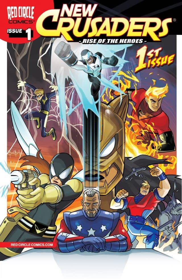 New Crusaders: Rise of the Heroes #1