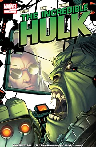 Incredible Hulk (2011-2012) #13