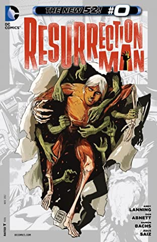 Resurrection Man (2011-2012) #0
