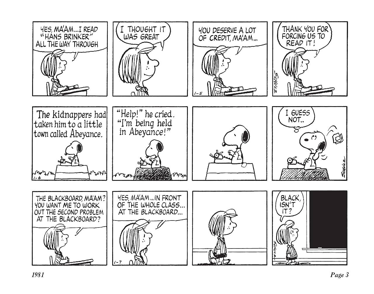 The Complete Peanuts Vol. 16: 1981-1982