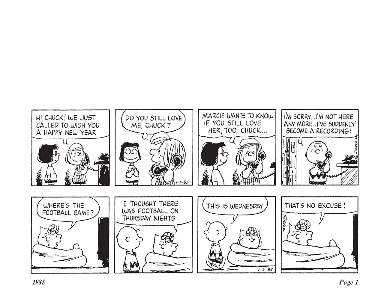 The Complete Peanuts Vol. 18: 1985-1986
