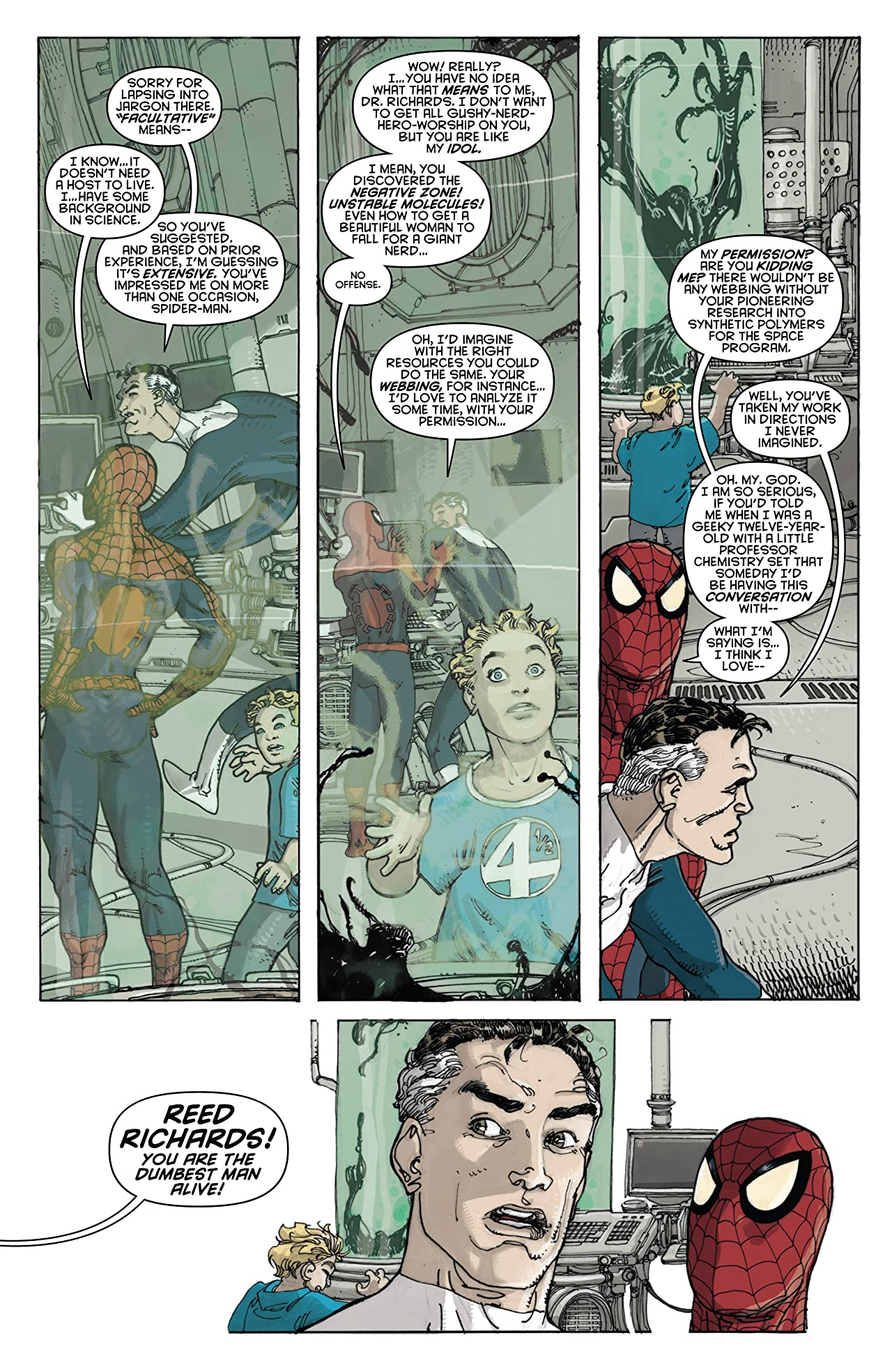 Spider-Man/Fantastic Four #2 (of 4)