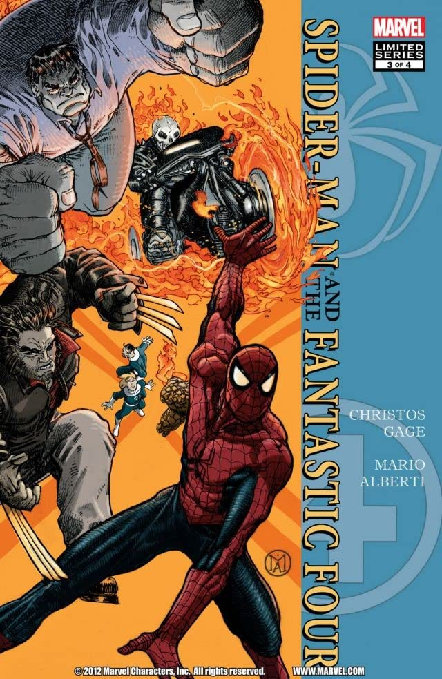 Spider-Man/Fantastic Four #3 (of 4)