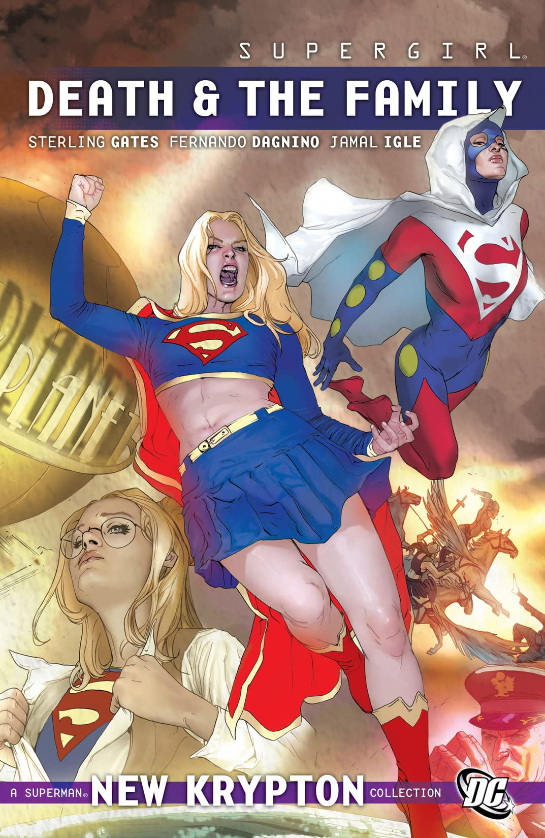 Supergirl (2005-2011) Vol. 8: Death and the Family