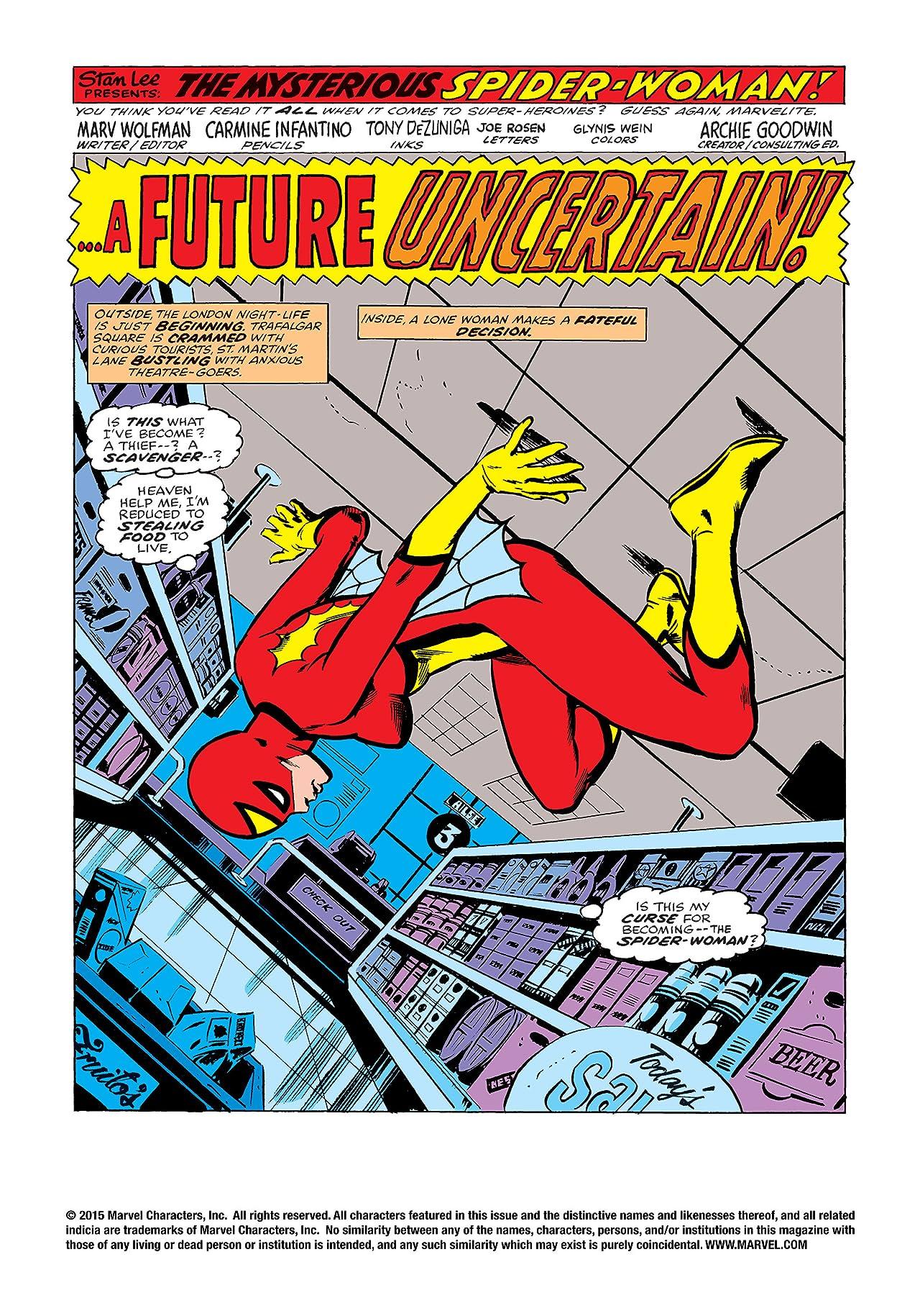 Spider-Woman (1978-1983) #1
