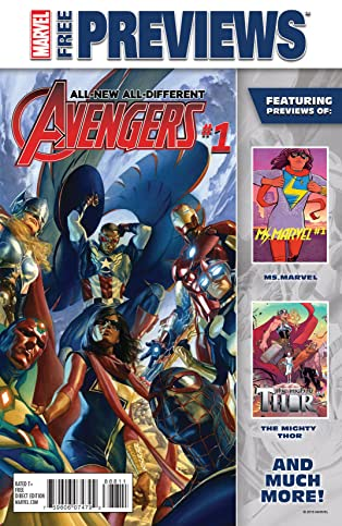 All-New, All-Different Marvel November Previews