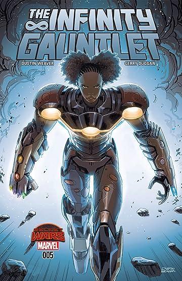 Infinity Gauntlet 2015 5 Eu Comics By Comixology
