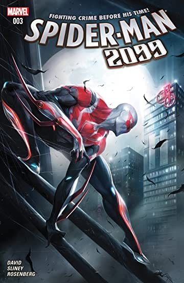 Comic book 2099 spiderman