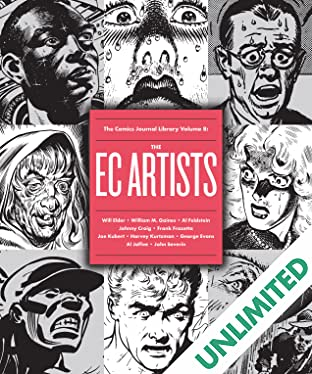 The Comics Journal Library Vol. 8: The EC Artists