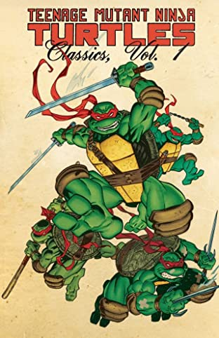 Teenage Mutant Ninja Turtles: Classics Tome 1