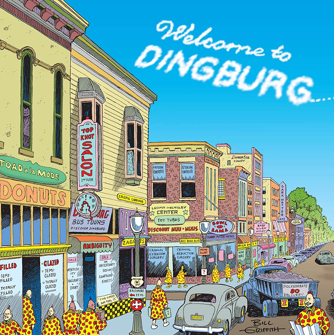 Zippy the Pinhead: Welcome to Dingburg