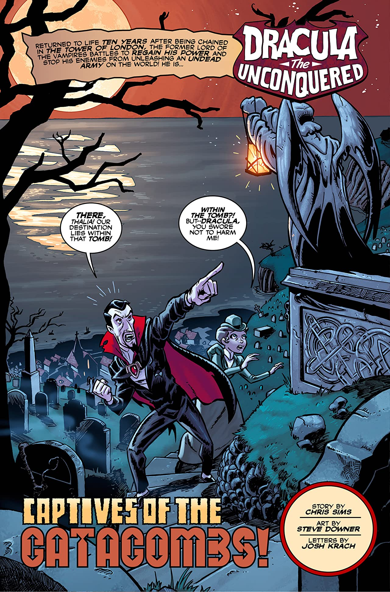 Dracula the Unconquered #2
