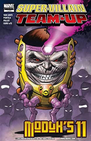 Super-Villain Team-Up/M.O.D.O.K.'s 11 No.1 (sur 5)