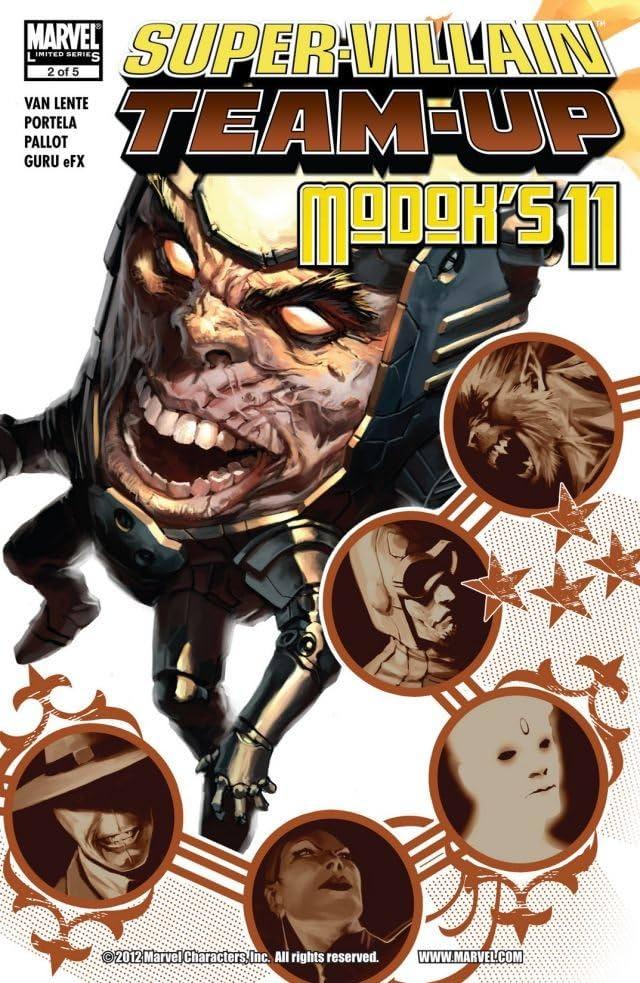 Super-Villain Team-Up/M.O.D.O.K.'s 11 #2