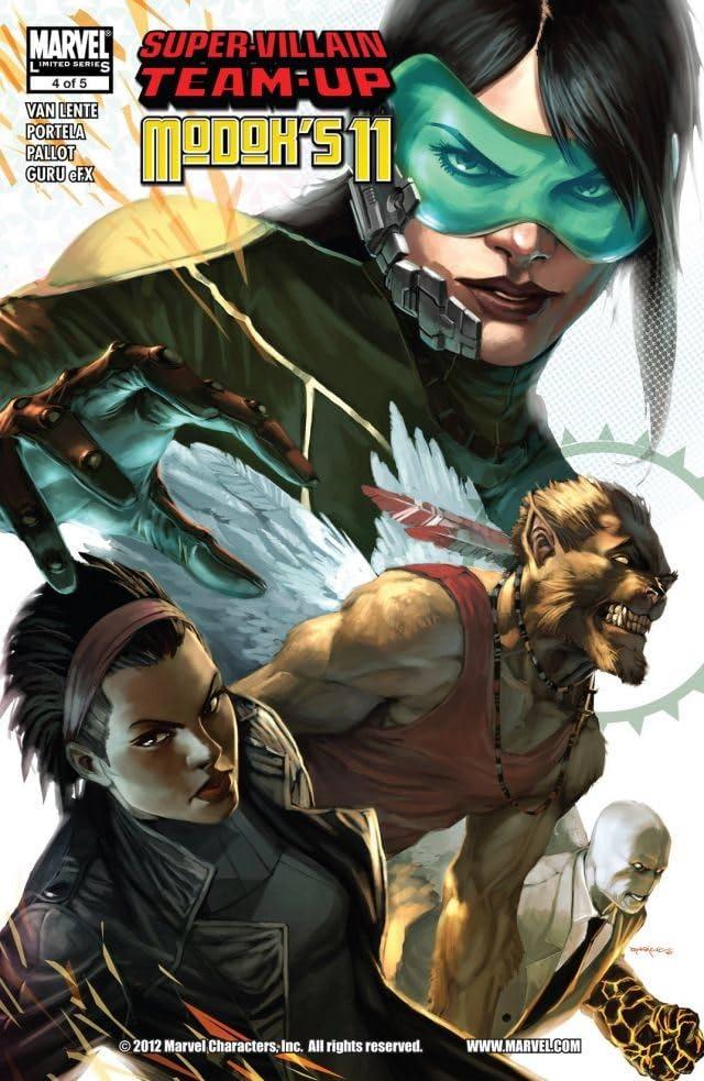 Super-Villain Team-Up/M.O.D.O.K.'s 11 #4 (of 5)