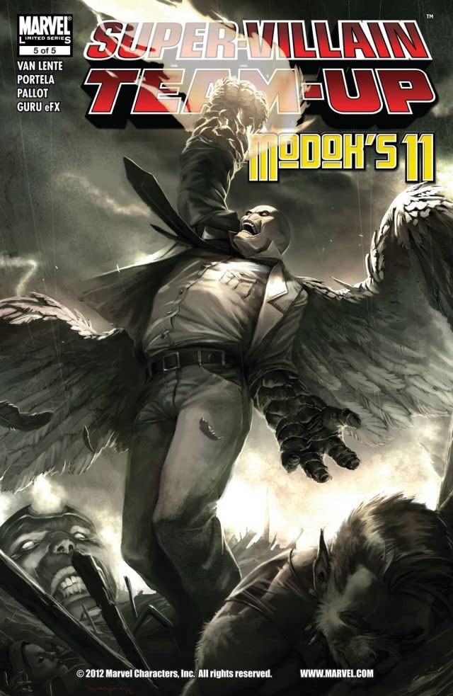 Super-Villain Team-Up/M.O.D.O.K.'s 11 #5