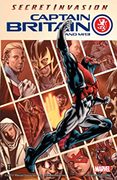 Captain Britain and MI: 13 Vol. 1: Secret Invasion