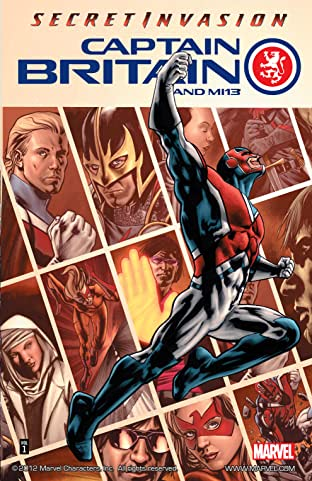 Captain Britain and MI: 13 Tome 1: Secret Invasion