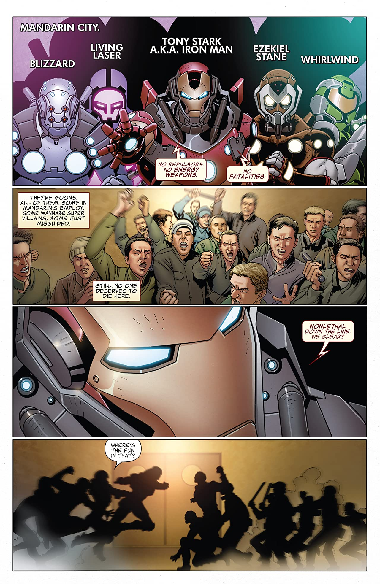 Invincible Iron Man (2008-2012) #525