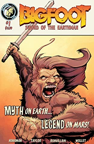 Bigfoot: Sword of the Earthman No.1