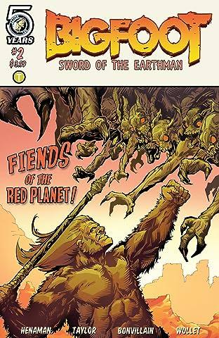 Bigfoot: Sword of the Earthman #2